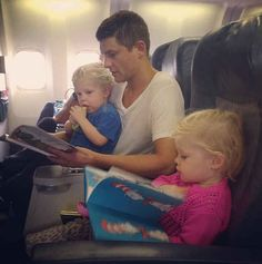 And when they all went flying and David was reading Gideon a book and it melted your heart: