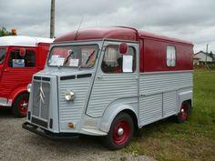 Citroen Ds, Citroen Type H, Vintage Rv, Camping Organization, Bus Camper, Vintage Travel Trailers, Cabriolet, Camping Car, Vroom Vroom