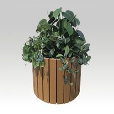 Recycled Walden Planters | Recycled Planters | BigPlanters.com Recycled Planters, Patio Planters, Planter Pots, Recycling, Plants, Window Boxes, Recyle, Repurpose, Planters
