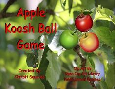 Apple Koosh Ball SMARTBoard Game image 3