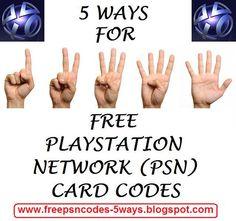 Free Psn Codes by freepsncodes.deviantart.com on @deviantART