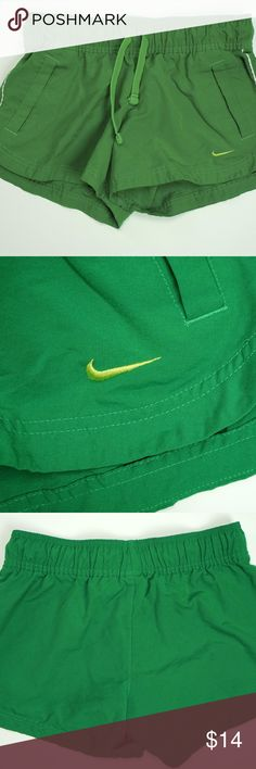 Nike Womens Small Short Nike women's green shorts. In awesome condition. Barely worn. Nike Shorts
