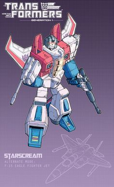 Starscream Poster by J-Rayner.deviantart.com on @DeviantArt