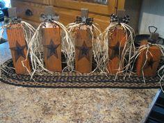 Primitive Crafts | Primitive Pumpkins | 2X4 & OTHER WOOD CRAFTS