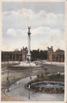 Hungary, Budapest, Millenium monument