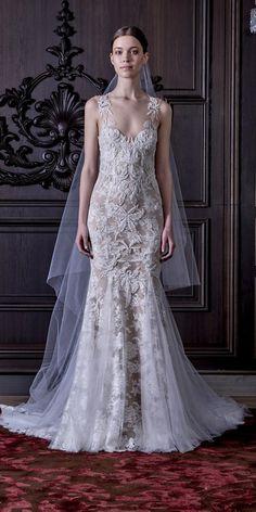 Monique Lhuillier Spring 2016 Wedding Dresses 5 / http://www.himisspuff.com/monique-lhuillier-spring-2016-wedding-dresses/