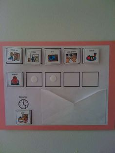 Creating Order in The Home: Daily Schedules Visual Schedule Preschool, Visual Schedule Autism, Visual Schedules, Daily Schedules, Visual Schedule Printable, Daily Routines, Pecs Schedule, Schedule Board, Autism Classroom