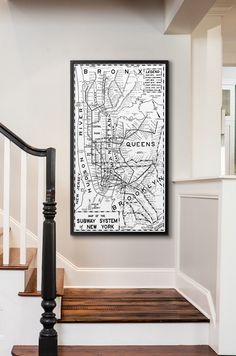Similar To Restoration Hardwares 1955 New York Subway System Map, But Not  Affiliated With Or Produced By Restoration Hardware. Multiple Sizes  Available At A ...