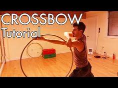 Crossbow Tutorial- Wheels and Windows pt 6 Hula Hoop Workout, Hoop Dreams, Military Love, Dance Routines, Fun Workouts, Daily Workouts, Crossbow, Longbow, Belly Dance
