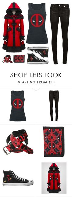 """Deadpool's Fan"" by sunako-nakahara ❤ liked on Polyvore featuring Alyx, deadpool and blinddate"