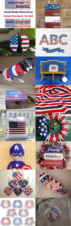 HAPPY JULY 4TH!! by Charlene on Etsy--Pinned+with+TreasuryPin.com