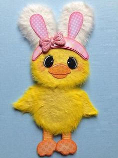 Easter Spring Chick Bunny Girl Tear Bear Scrapbook Paper PC ELITE4U 3PAPERWISHES | eBay
