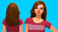 Butterscotch Sims Tulip Hair
