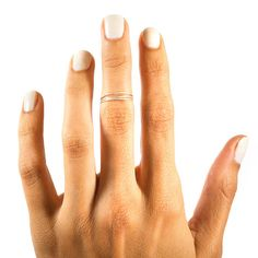 Midi Stacking Rings 14kt Rose Gold 14kt Gold or Sterling Silver