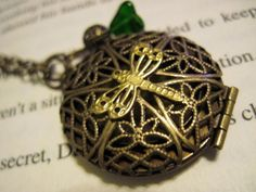 Dragonfly Secrets by ~PhantomNayru I adore lockets and I can not resist pretty dragonfly things. :)