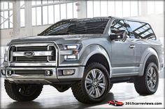 2016 Ford SVT Bronco to be Released in 2015