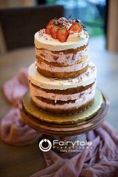 Strawberry-tall-cake? Beach Weddings, Unique Weddings, Wedding Shot List, Tall Cakes, Event Services, Wedding Trends, Eat Cake, Michigan, Fairy Tales