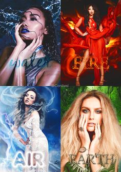 Little Mix, los 4 elementos.