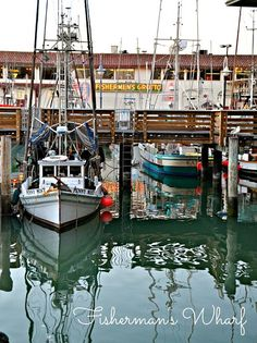 Fisherman's Wharf, San Francisco. Loved going there in the 60's...lot's of street artists..