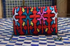 BERBER CLUTCH A8 by RahbaDesign on Etsy