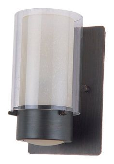 single light caged glass wall wall sconces ceiling lights