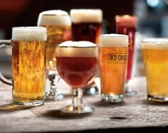 OUR BEER -  Since 1976, beer enthusiasts have praised our huge lineup of world-class craft beers....  Do you know your citrus notes from your velvety caramel? Click here to learn How to Taste Beer.