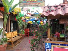 Old Town San Diego | Mexican cafe and cantina in Old Town. | Cool San Diego Sights!