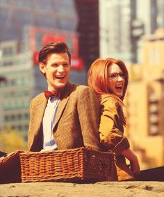 Matt Smith, Karen Gillan (I wouldn't know if this is behind the scenes or what)