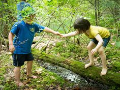 Check out TimberNook, a groundbreaking nature camp for growing minds >> http://blog.diynetwork.com/maderemade/2015/07/27/creative-genius-angela-hanscom-timbernook/?soc=pinterest