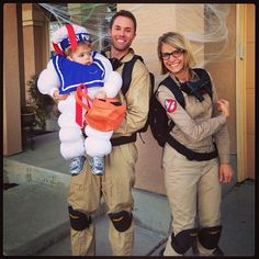 Family Ghostbusters Costume!