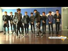 130430 (공개 Publication) 엑소 EXO MAMA Dance Lessons @ S.M building - YouTube