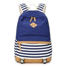 $21.99 (Buy here: https://alitems.com/g/1e8d114494ebda23ff8b16525dc3e8/?i=5&ulp=https%3A%2F%2Fwww.aliexpress.com%2Fitem%2FAbshoo-Lightweight-Canvas-Backpacks-for-Girls-School-Bookbags%2F32642739247.html ) School Bags For Teenagers Cute Canvas Backpacks For Teenage Girls Striped Printing Women's Backpack School Bag For Girls for just $21.99