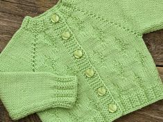 Simple Style Baby Cardigan and Hat pattern by Lion Brand Ya Mens Knitted Scarf, Knitted Baby Cardigan, Baby Pullover, Hand Knit Scarf, Knitted Coat, Wool Cardigan, Men Scarf, Wool Scarf, Wool Coat