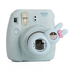 63a761ca3 Amazon.com    Fujifilm Instax Close up Lens -Woodmin Rabbit-style Selfie  Lens for Fuji Instant Mini 8 8 Plus 7s Camera (Blue)   Camera   Photo