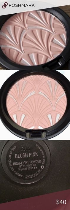 MAC Philip Treacy edition Highlighting powder MAC Philip Treacy limited edition Highlighting& blush powder. NWT MAC Cosmetics Makeup Blush