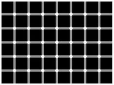 Optical Illusions That Prove Your Brain has a few holes  How Many Black Dots Can You Count?