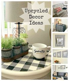 My Daughter's Townhouse Decorated With Up-cycled Farmhouse Decor