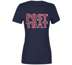 David Price Post That Quote Boston Baseball Fan T Shirt - Ladies Premium / Navy / Medium