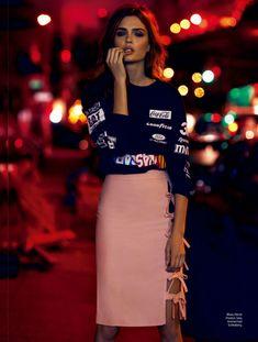 Elle Magazine Brazil January 2014   Josephine Skriver by Nicole Heiniger  [Editorial]