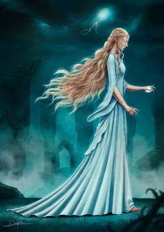 "Galadriel by DanPilla.deviantart.com on @DeviantArt - From ""The Hobbit"""