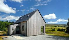 From the Isle of Skye, R.House is a line of prefab homes designed to fit in with the architecture and landscape of rural Scotland. | www.facebook.com/SmallHouseBliss