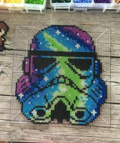 Stormtrooper Star Wars perler beads by hollohandcrafted
