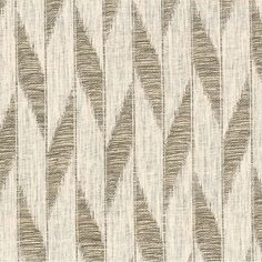 Tokai in Bark from Rose Tarlow Melrose House #textiles #fabric #linen #glazedlinen #stripe #brown