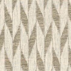 Tokai in Bark from Rose Tarlow Melrose House #textiles #fabric #linen #glazedlinen #stripe #brown