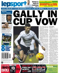 Gally in cup vow - 04/12/14