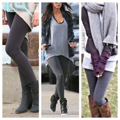 Grey fleece leggings Great fitting slimming grey fleece leggings PLEASE USE Poshmark new option you can purchase and it will give you the option to pick the size you want ( all sizes are available) BUNDLE And SAVE 10% ( sizes updated daily ) Pants Leggings