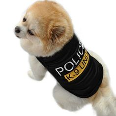 K-9 Police Unit T-Shirt for Dogs