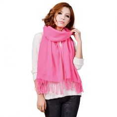 Solid Color Shawl AZ19-20 Pink
