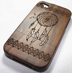 wood iphone 4 case wood iphone 4s case dream by PhoneKiosks
