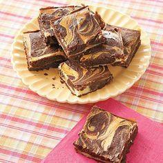 Cream Cheese Swirl Brownies recipe